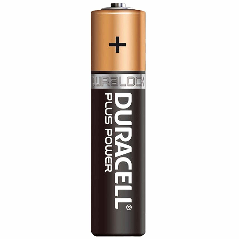 Batterie ministilo AAA DURACELL PLUS POWER conf. pz 4