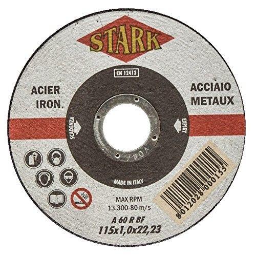Disco per taglio metalli mm 115x1,0 foro 22,23