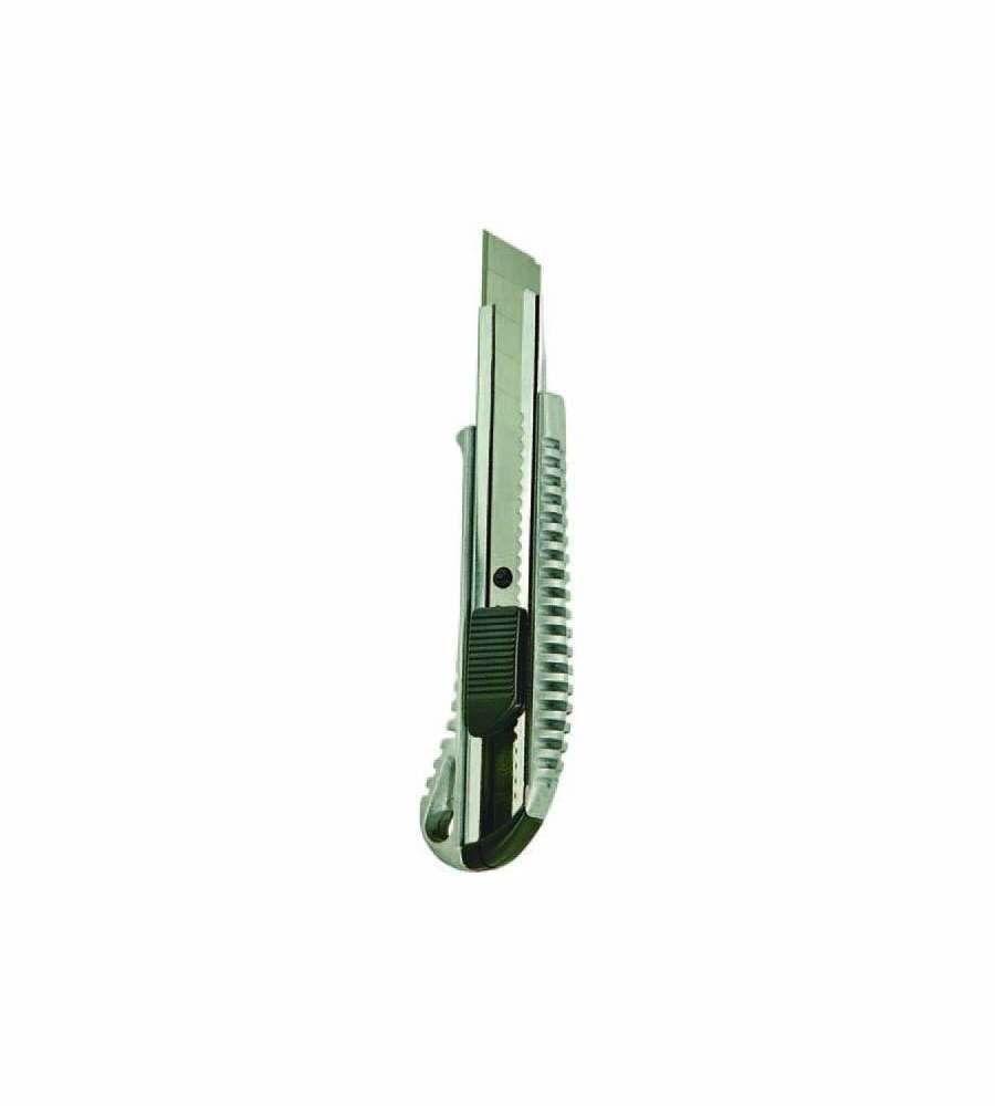 Cutter in alluminio con lama a spezzare mm 18 VIGOR
