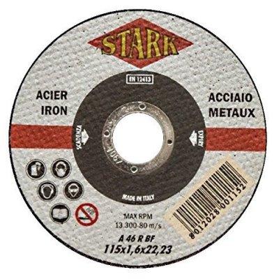 Disco per taglio metalli d. mm 115 x 1,6 foro 22,23