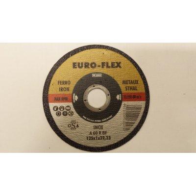 Disco per taglio metalli d. mm 125 x 1,6 foro 22,23