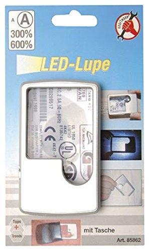 Lente di ingrandimento tascabile con luce Led BGS