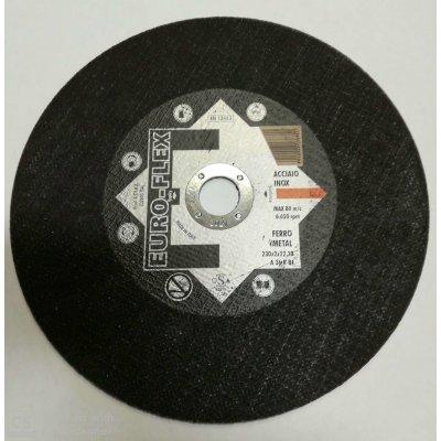 Disco per taglio ferro/inox mm 230 x 2,0 foro 22,23