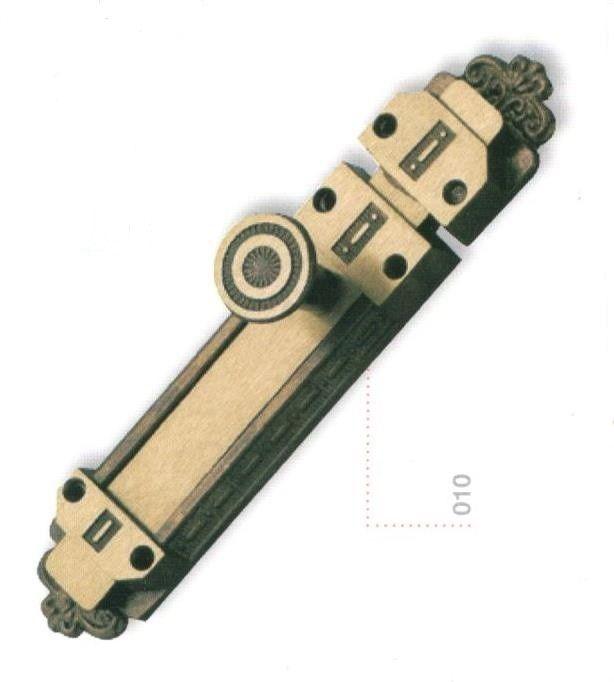 Catenaccio mod. DABY mm 150 in ottone bronzato