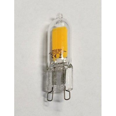 Lampadina LED G9 2 w GLASS Luce calda 3000 K