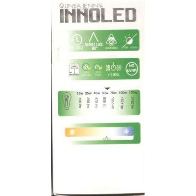 Lampadina LED SFERA 9w E27 Luce naturale 4000 K
