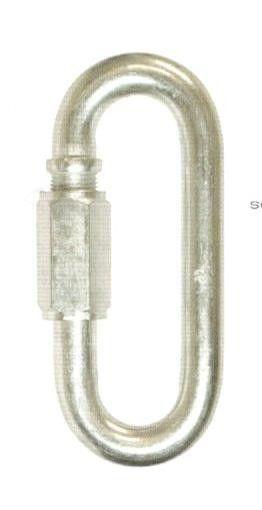 Maglia giunzione rapida mm  3,5 in acciaio zincato