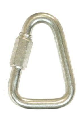 Maglia rapida triangolare mm  8 in acciaio zincato