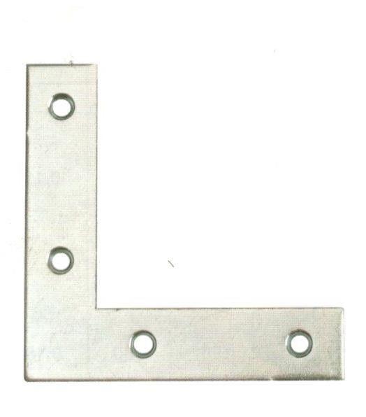 Angolo di rinforzo cm 10 x 10 larghezza mm 18 tipo pesante
