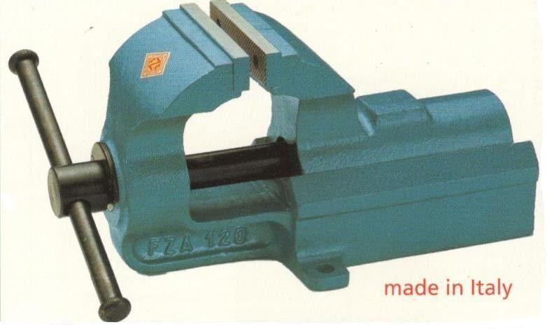 Morsa parallela mm 100  in acciaio forgiato FZA MA/6