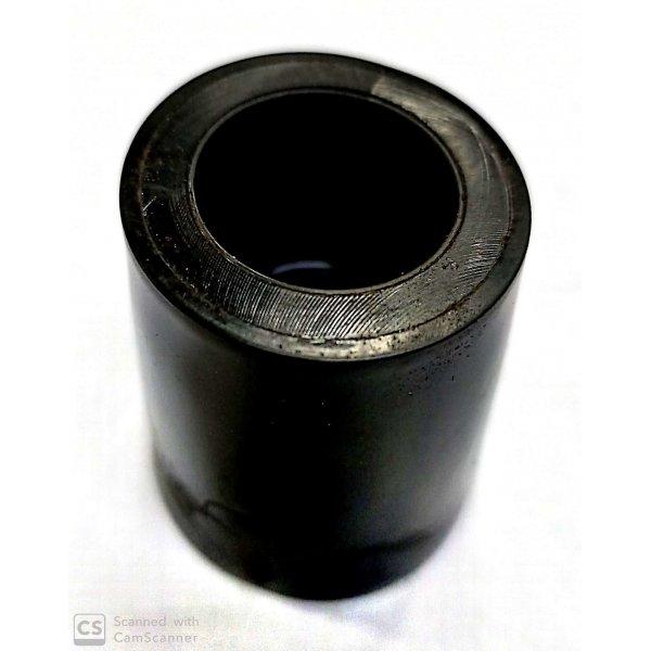 Paracolpo troncoconico d. mm 40 x h 45 in PVC nero