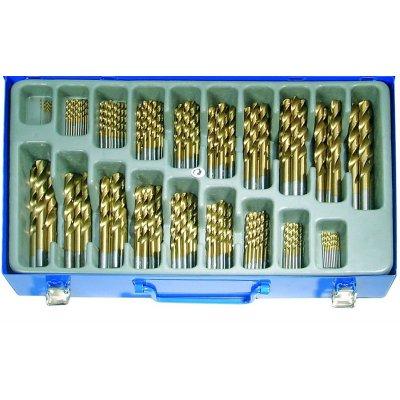 Set 170 pz. punte HSS-TIN in valigetta metallo BGS1994