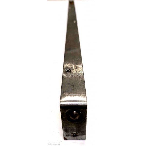 Catenaccio ad unghia cm 50 frontale mm 20 in ferro grezzo serie pesante