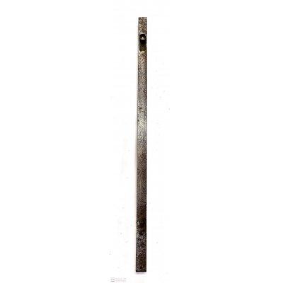 Catenaccio ad unghia cm 50 frontale mm 18 in ferro grezzo serie normale