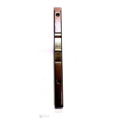 Catenaccio a pulsante tipo stretto cm 15 bronzato AGB 300