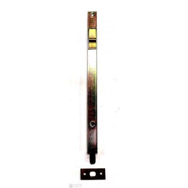 Catenaccio a pulsante cm 25 in ferro ottonatto