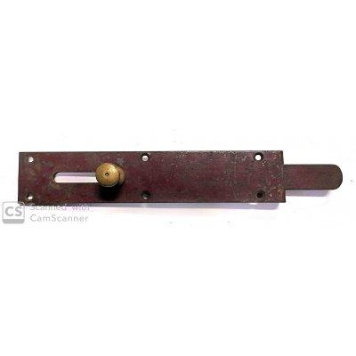 Catenaccio sottolama cm 22,5 tipo pesante in ferro verniciato