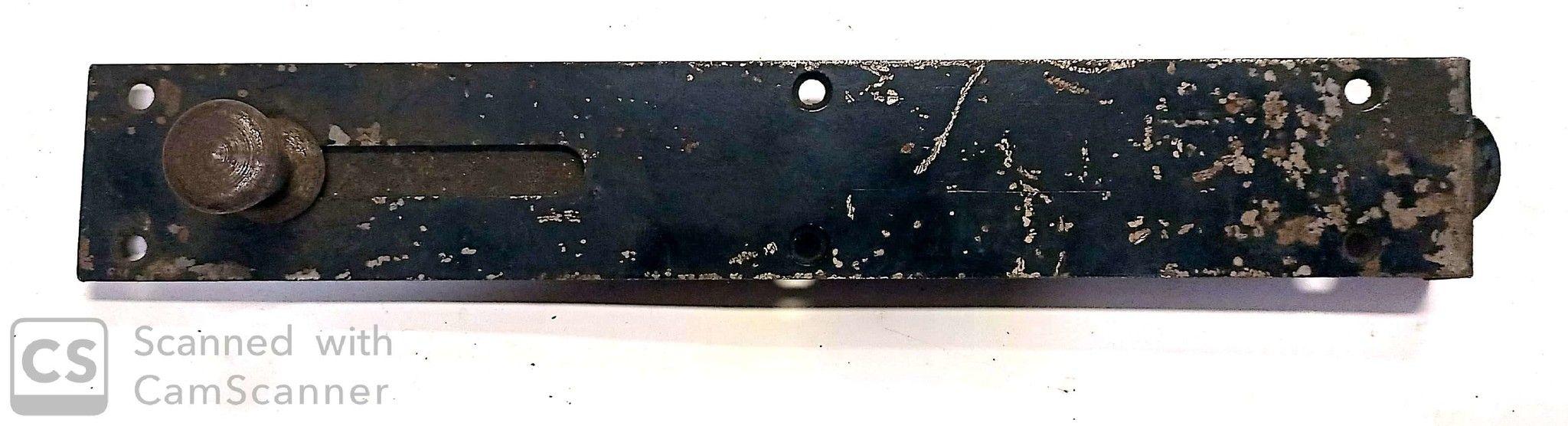 Catenaccio sottolama cm 25 tipo pesante in ferro verniciato