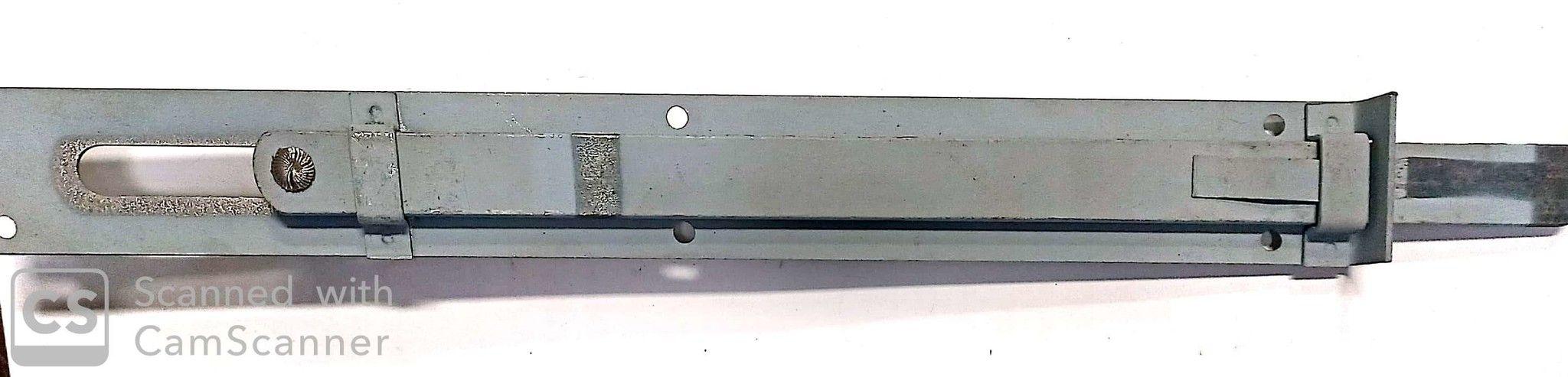 Catenaccio sottolama cm 35 tipo pesante in ferro verniciato