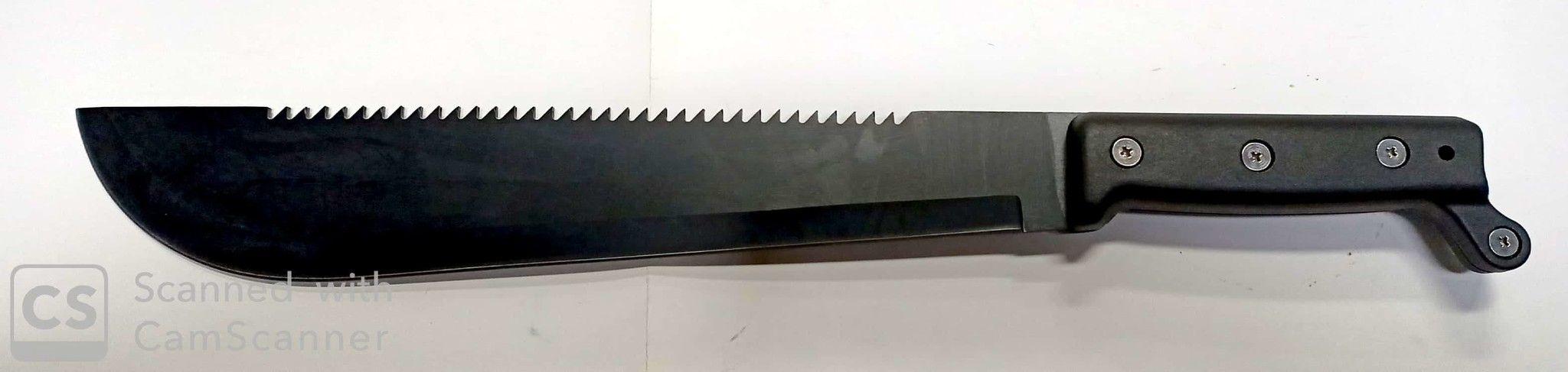 Machete BORNEO mm 450 con fodero VALEX