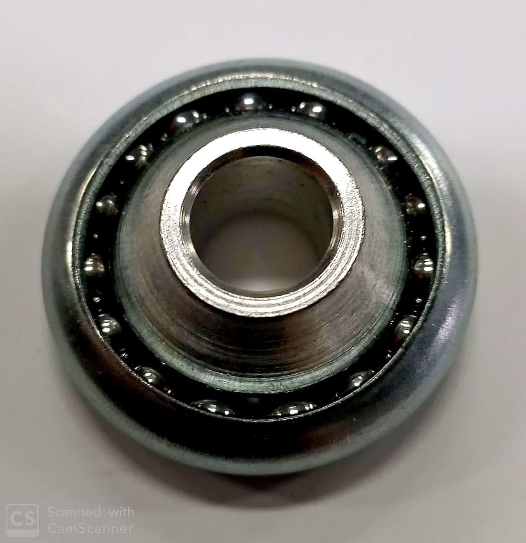 Cuscinetto su sfere tondo mm 42 rullino ferro per tapparelle