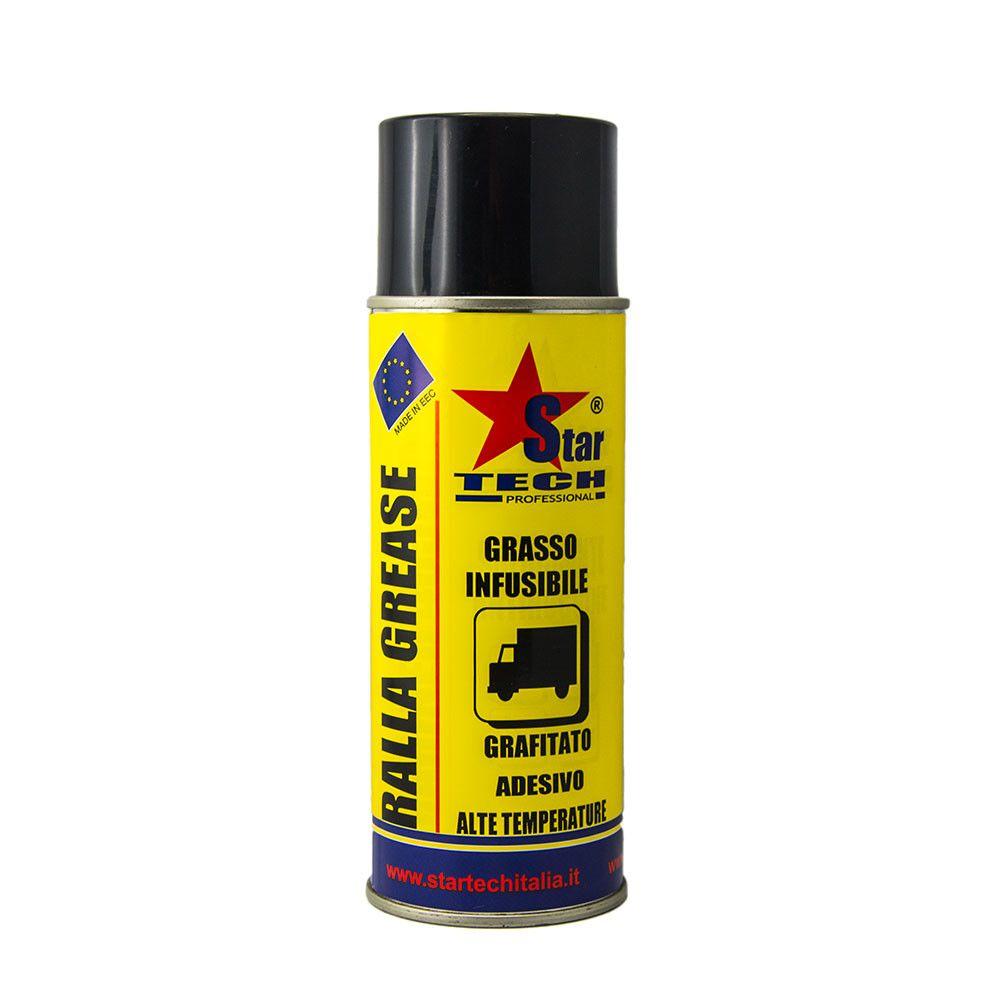 Grasso grafitato adesivo alte temperature spray 400 ml RALLA GREASE