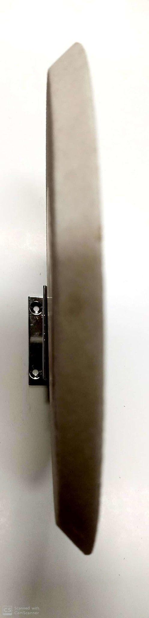 Mola abrasiva a smusso mm 175 x 10 foro 20 al corindone grana 80