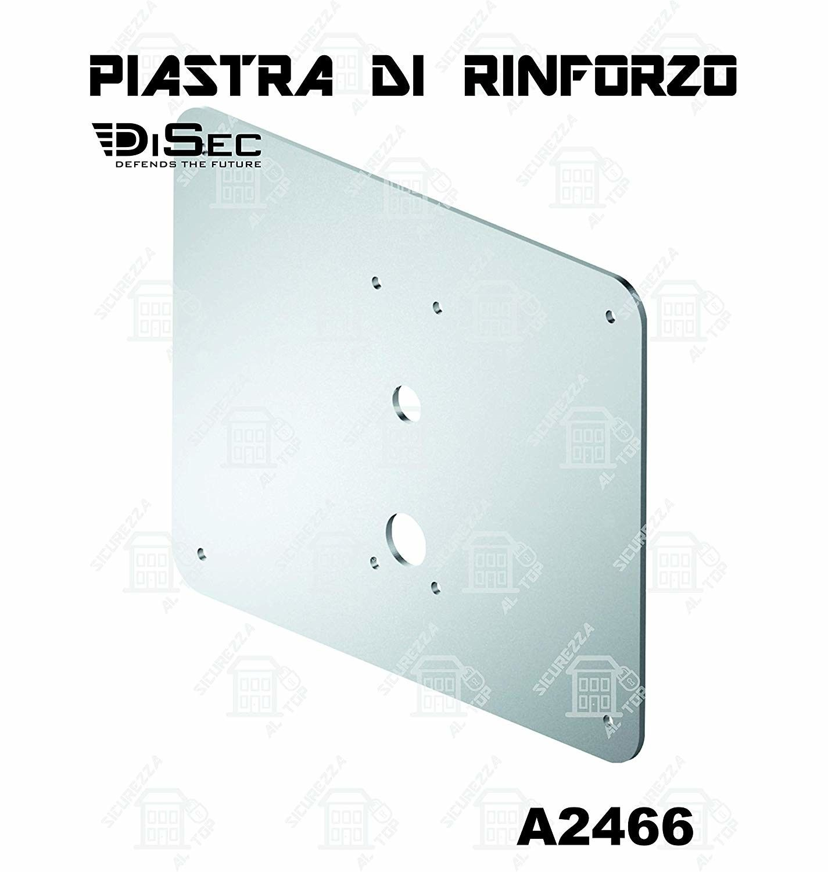 Rinforzo piano x basculante zincato mm 300X240 DISEC