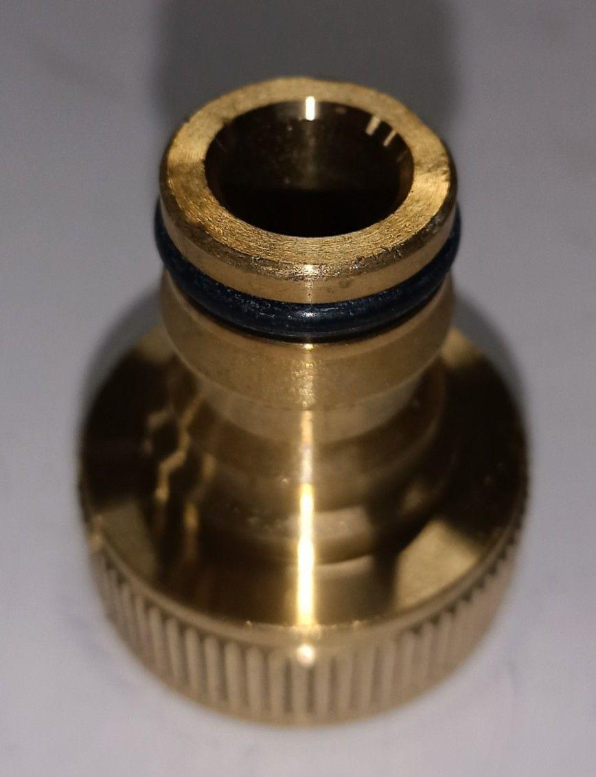 Presa per rubinetto in ottone F 3/4' ad innesto rapido