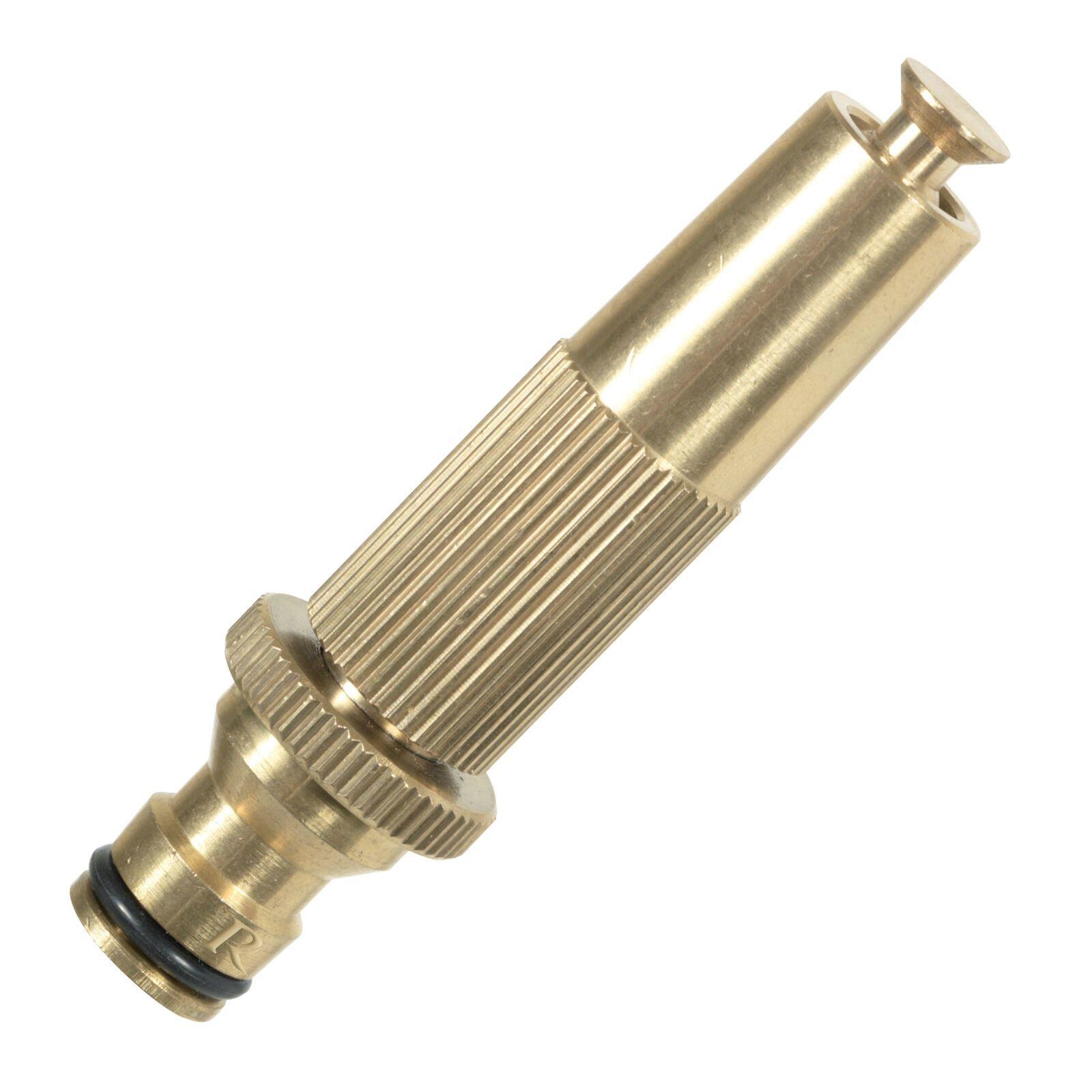 Lancia irrigazione in ottone a getto regolabile con innesto rapido