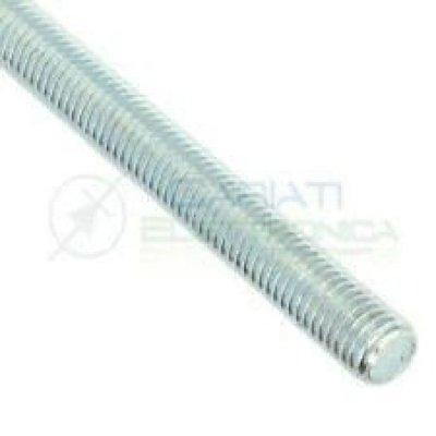"""Barra filettata WHITWORTH 3/4"""" pollice lunghezza mm 1000 in ferro zincato"""