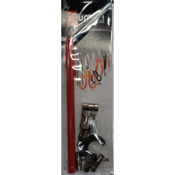 Chiave montaggio rubinetti con testina snodata e bussole