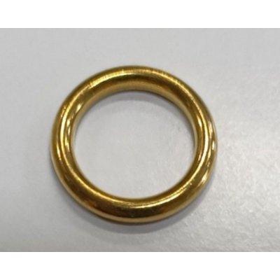 Anello tubolare in ottone mm 13-18