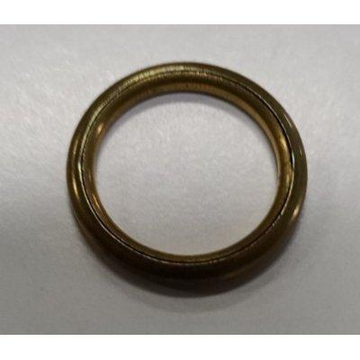 Anello tubolare in ottone mm 19-25