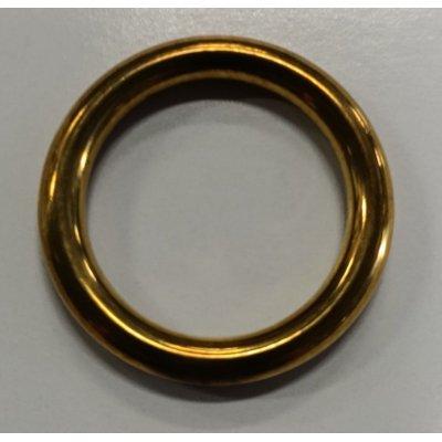 Anello tubolare in ottone mm 22-30