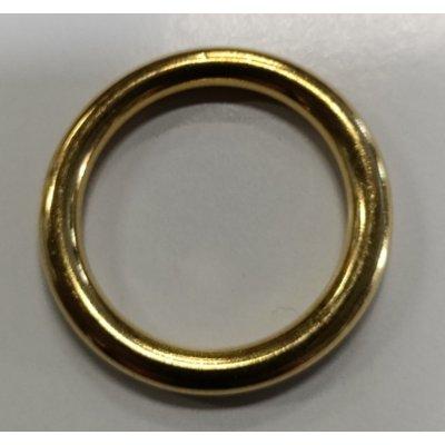 Anello tubolare in ottone mm 27-36