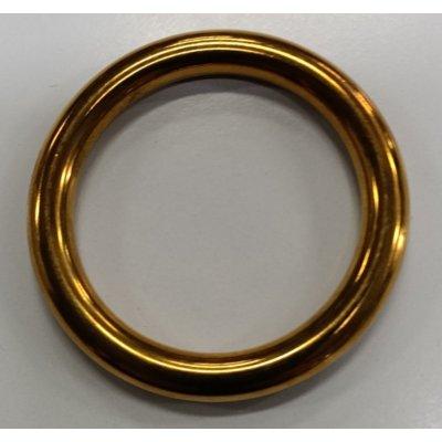 Anello tubolare in ottone mm 45-62
