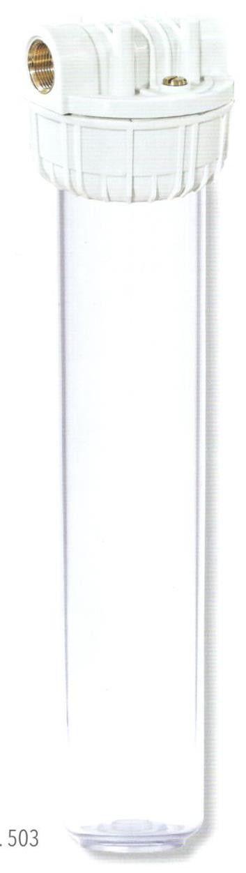 Contenitore portafiltro SUPERBIG 20' ( cm 50 ) a cartuccia filetto FF 1 1/2'