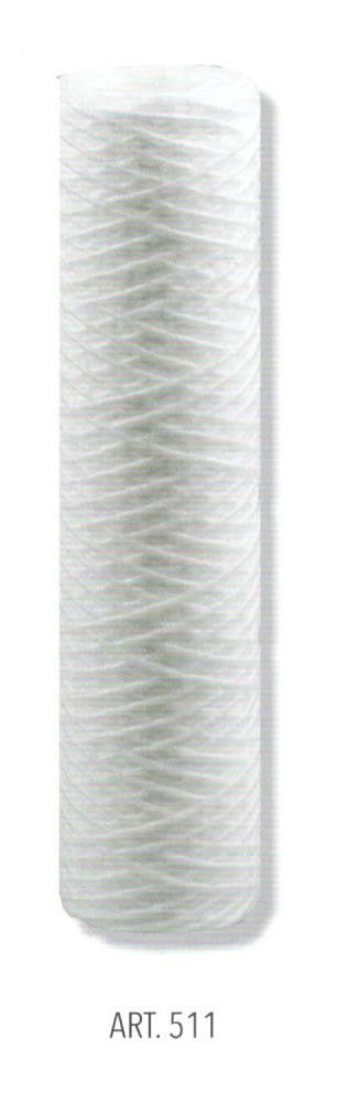 Cartuccia in filo avvolto da 50 micron per portafiltro BIG 10' ( cm 25 )