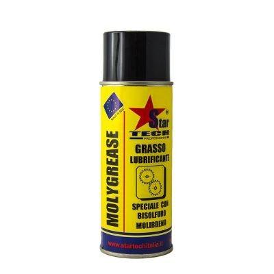 Grasso speciale con bisolfuro di molibdeno spray 400 ml MOLYGREASE