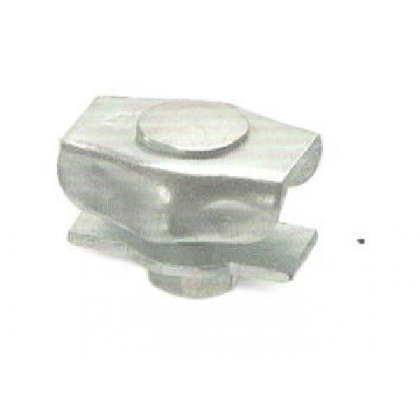 """Morsetto """"SIMPLEX"""" per fune mm 5 in acciaio zincato"""