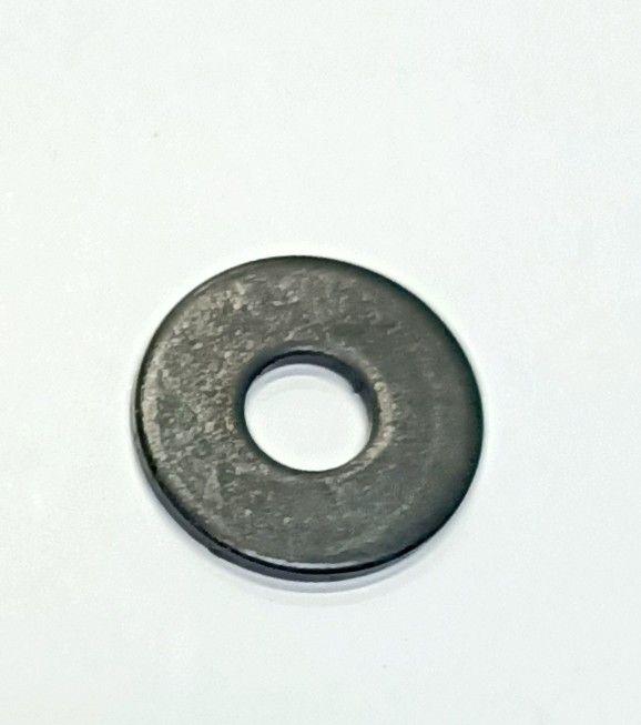Rondella piana zincata NERA mm  6 x 18 x 1,5