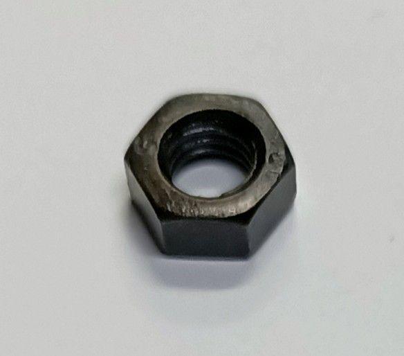 Dado esagonale zincato NERO mm 5
