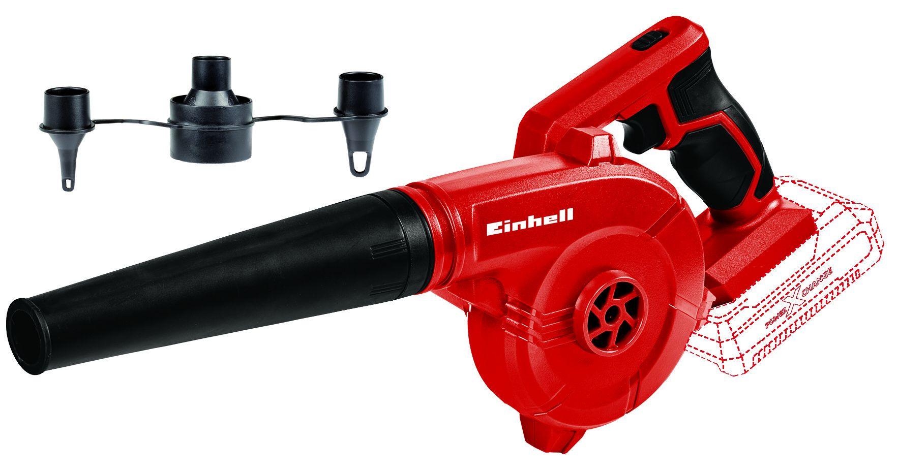 Soffiatore a batteria TE-CB 18/180 Li Solo, 18 V Einhell 3408001