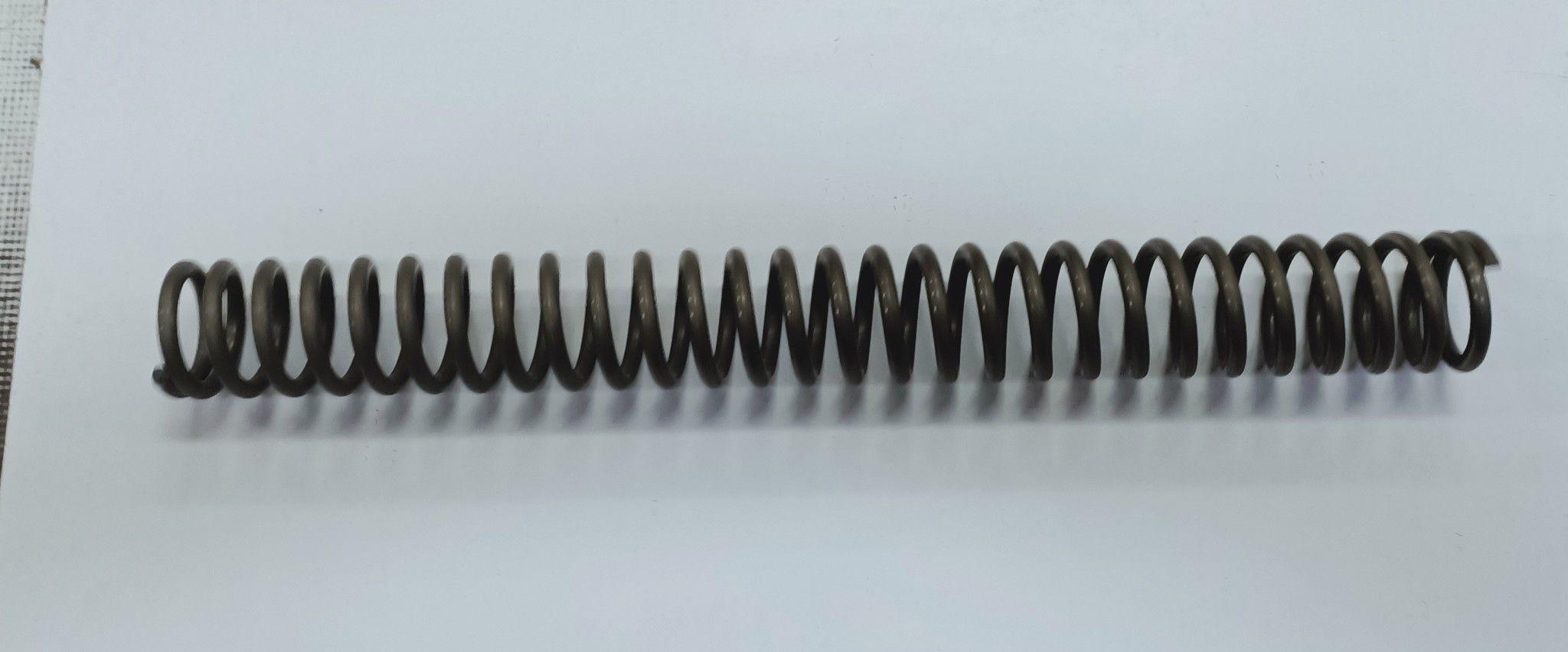 Molla a compressione d. mm 45 filo 6 lunghezza mm 400