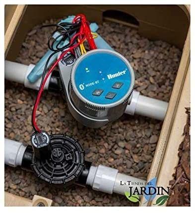 Programmatore NODE-BT-100 Bluetooth  Hunter + elettrovalvola  9V per irrigazione a batteria
