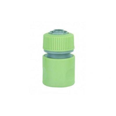 Raccordo rapido portagomma in plastica per tubo d. 12-15 mm