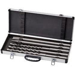 Einhell 4258099 Set punte attacco SDS MAX in valigetta alluminio