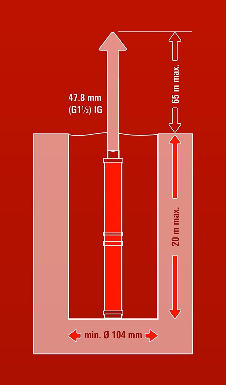 Pompa di Profondità, 1.300 W, 5.000 L/H  GC-DW 1300 N EINHELL 4170944