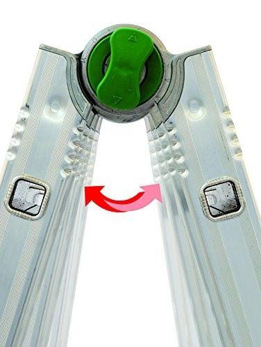 Scala universale in alluminio Facal Euro Briko BK/4 - gradini 5+5